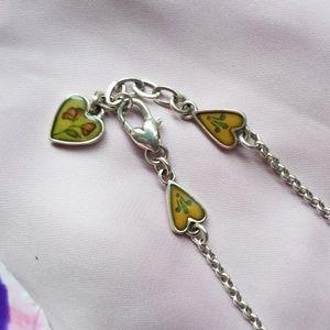 Brighton heart piccadilly ankle bracelet